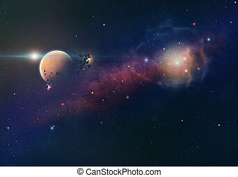 планета, туманность