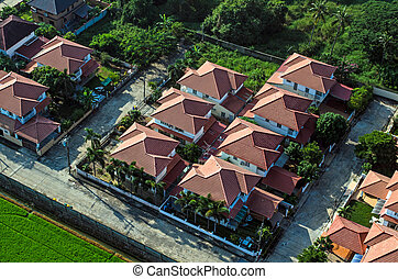 площадь, roofs, жилой, корпус, воздух, посмотреть