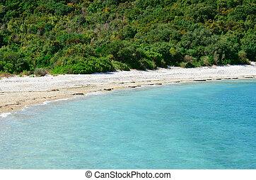 пляж, рай
