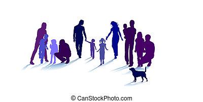 повышать, семья