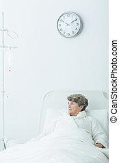 подопечный, пациент, гериатрический