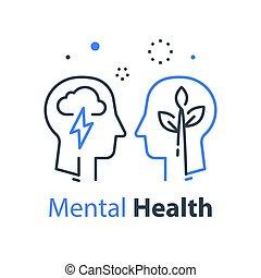 познавательный, или, человек, психотерапия, психология, profile, здоровье, глава, концепция, умственный
