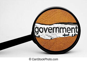 поиск, правительство