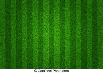 поле, задний план, зеленый, футбольный, трава