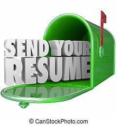получить, карьера, продолжить, отправить, ваш, работа, подать заявление, интервью, должность, возможность, новый