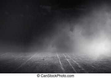 бетон туман