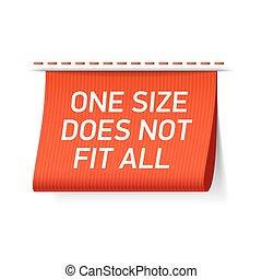 поместиться, не, все, размер, один, метка