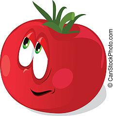 помидор, созревший