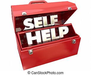 помогите, сам, улучшение, words, ящик для инструментов, совет, ресурсы, 3d