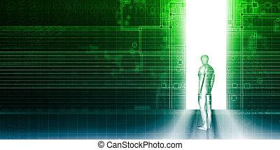 портал, цифровой