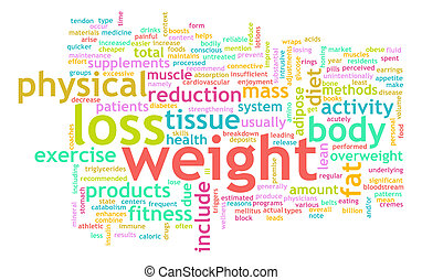 потеря, вес