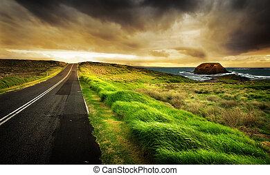 прибрежная, шоссе