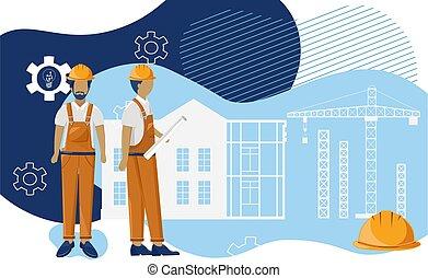привлечь, oни, visualising, план, группа, architects