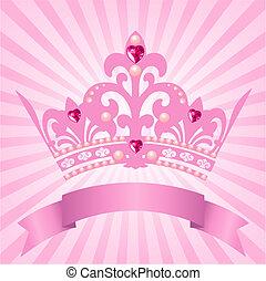 принцесса, корона