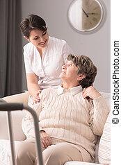 принятие, пациент, забота