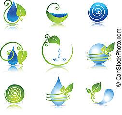 природа, icons