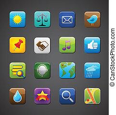 программы, коллекция, icons