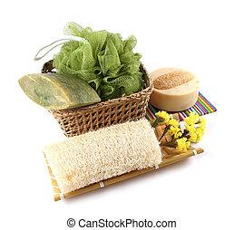 продукты, isolated, спа