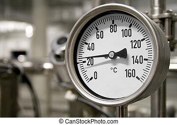 промышленные, термометр