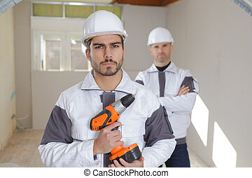 профессиональный, workers, промышленные, группа