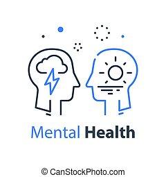 психология, психотерапия, profile, познавательный, человек, глава, здоровье, или, умственный, концепция