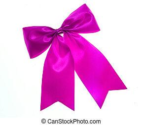 пурпурный, лук, isolated, white.