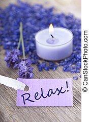 пурпурный, расслабиться, метка