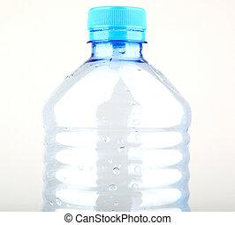 пустой, бутылка, пластик