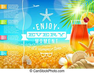 путешествовать, отпуск, лето, holidays, вектор, дизайн