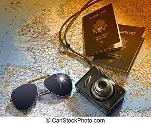 путешествовать, plans