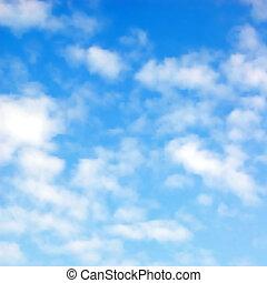 пушистый, clouds