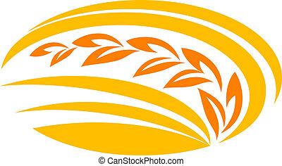 пшеница, символ, зерновой