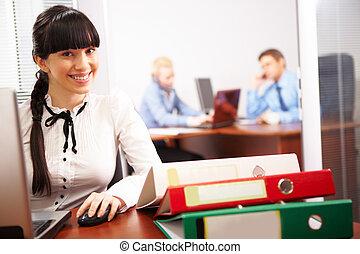 работа, секретарь
