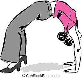 работа, упражнение
