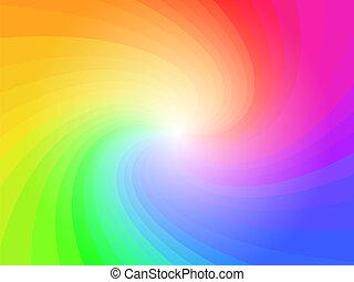 радуга, абстрактные, красочный, задний план, шаблон