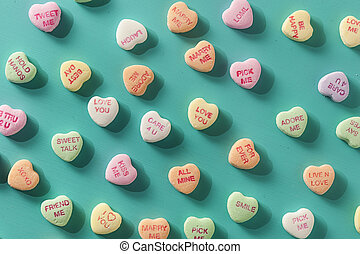 разговор, hearts, день, конфеты, valentine's