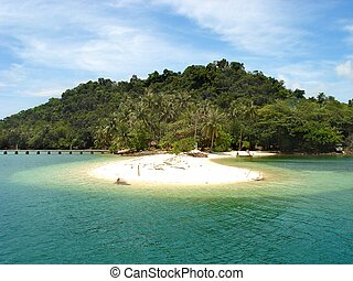 рай, остров