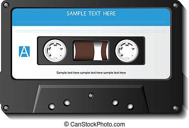 реалистический, кассета, лента