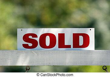 реальный, продан, имущество