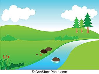 река, посмотреть