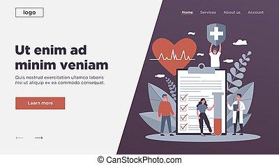 реклама, врач, страхование, здоровье, patients