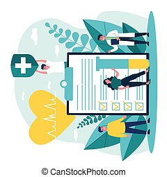 реклама, здоровье, страхование, patients, врач