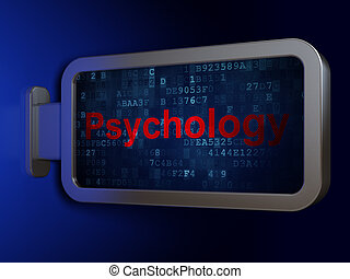 рекламный щит, лекарственное средство, concept:, психология, задний план