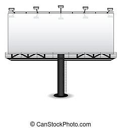 рекламный щит, на открытом воздухе, реклама