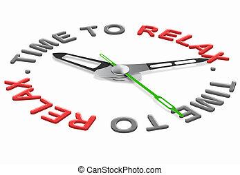 релаксация, время