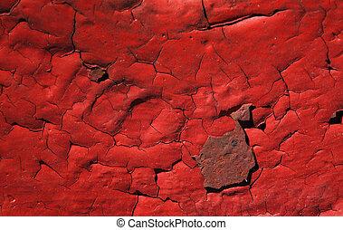 ржавый, красный, покрасить