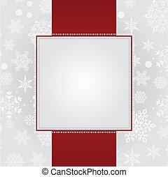 рождество, карта, приветствие