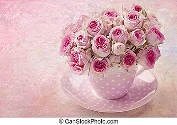 розовый, марочный, роза