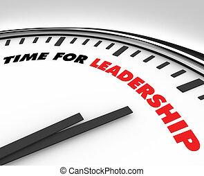 руководство, -, время, часы