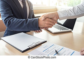 рукопожатие, компания, поздравление, бизнес, люди, команда, должностное лицо, работа, добро пожаловать, знак, менеджер, встреча, интервью, утверждение, по рукам, приветствие, having, заявитель